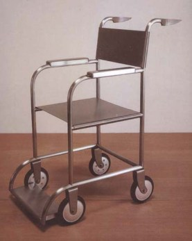 Mona Hatoum: Untitled (Wheelchair) 1998