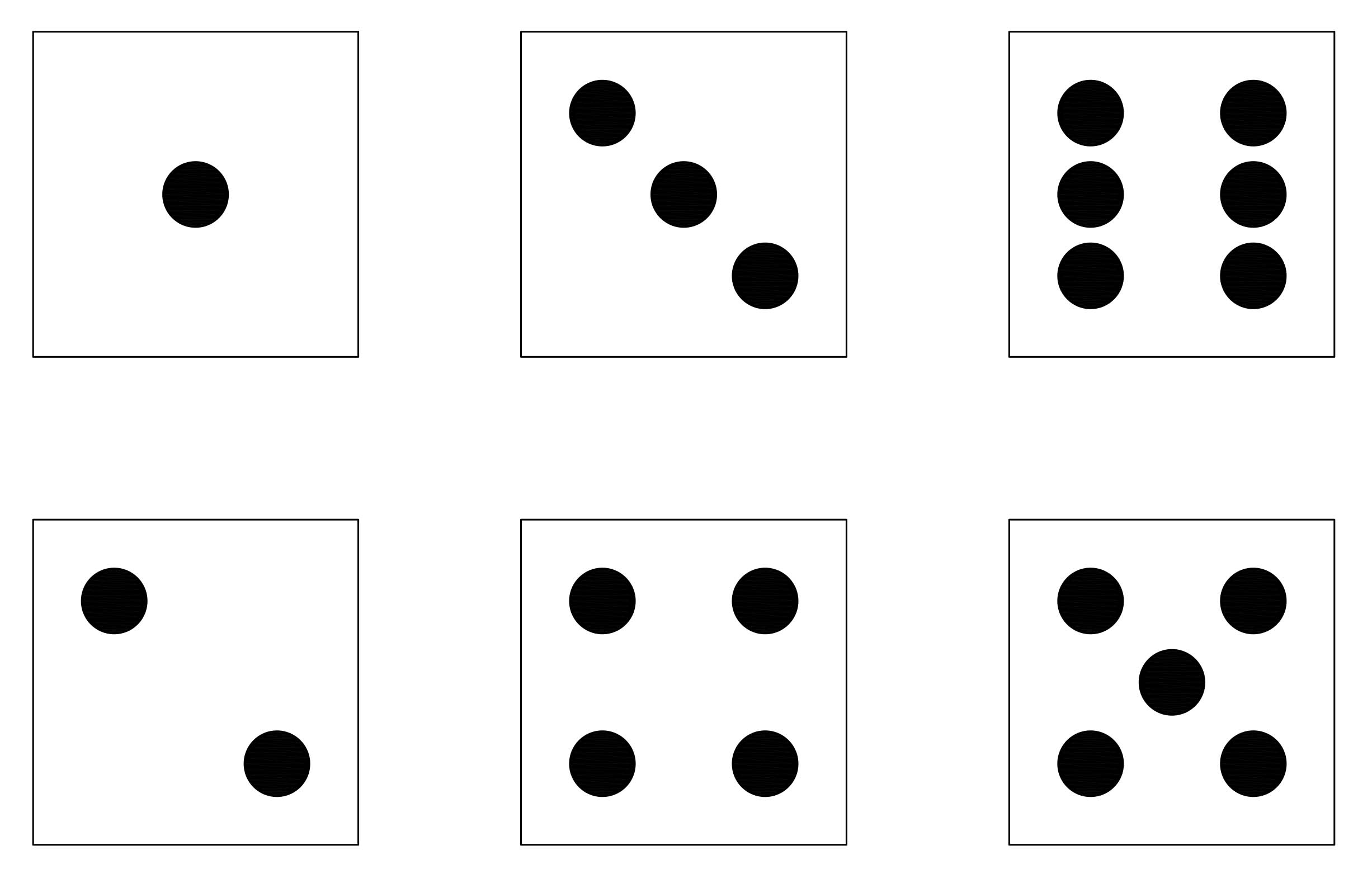 number dice cards